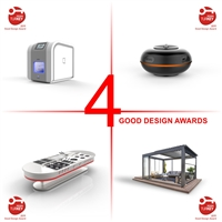 Design AWARDS for Hybrid, Capsule360, Pole & Skyroof