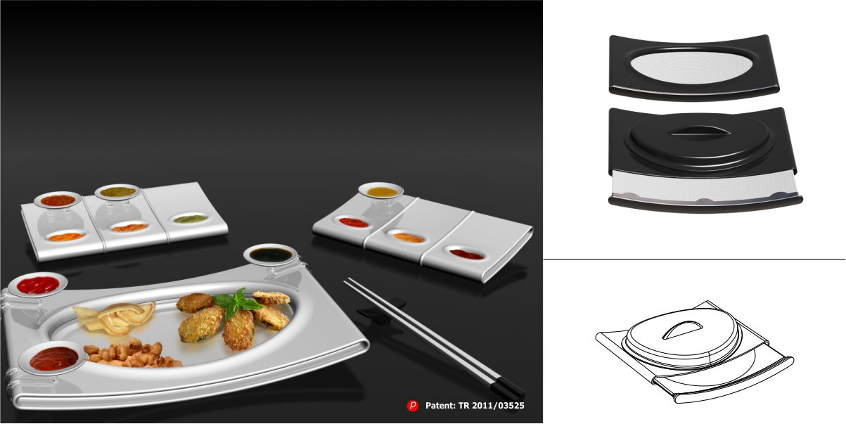 FRAYS Fry-Up Server Set