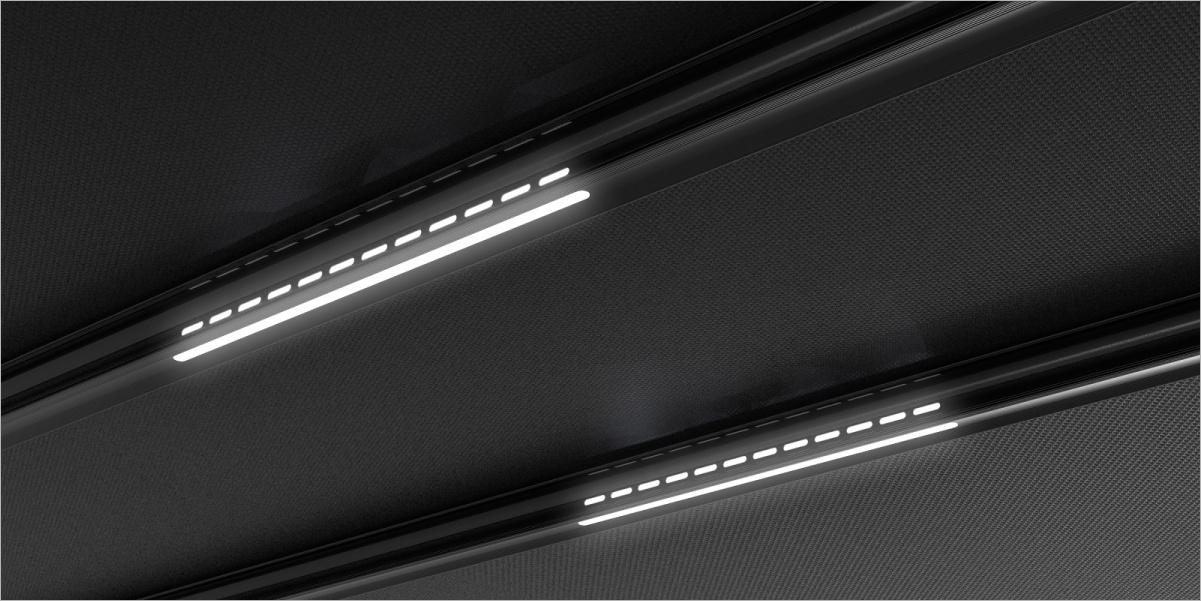 3.AXIS Pergola Linear Light System