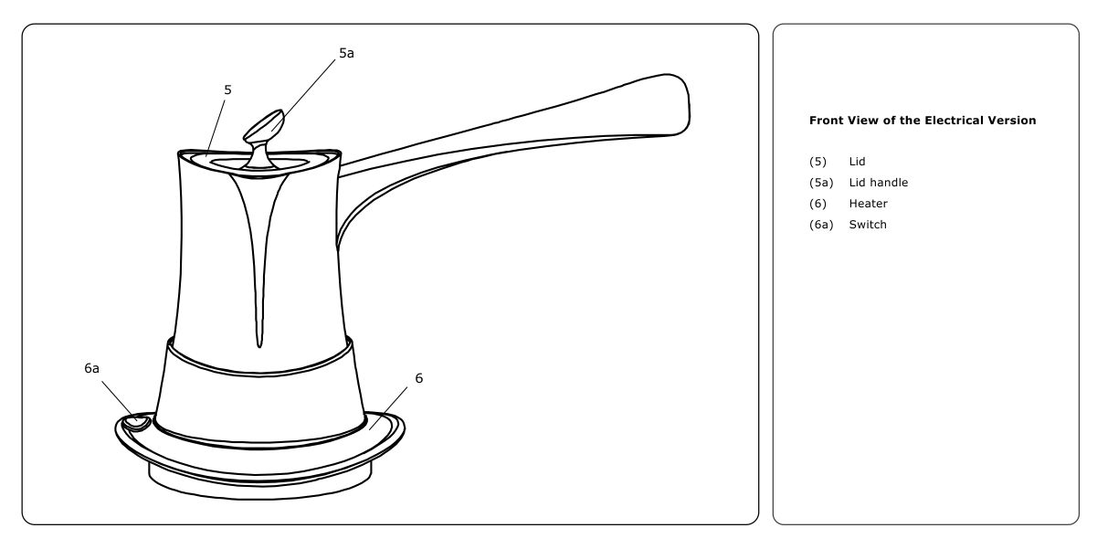 NOF.POT Non-Overflowing Coffeepot