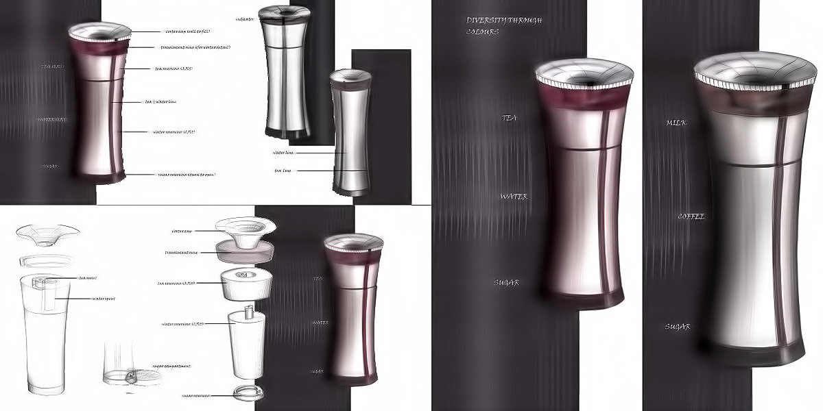 TERMOTWIN Double-Reservoir Thermos